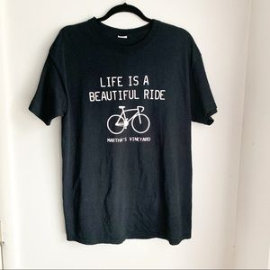 Tops - Life is a Beautiful Ride Tee